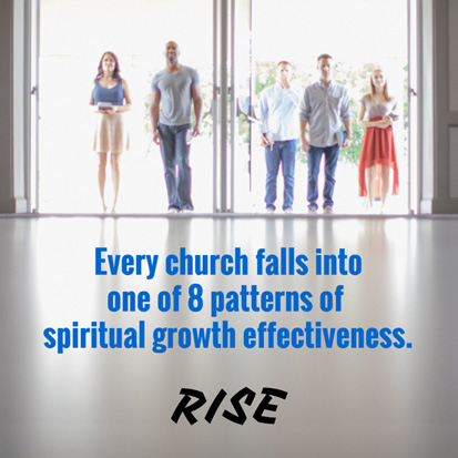 Every church falls into one of 8 patterns of spiritual growth effectiveness