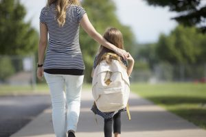 What Picking Up My Daughter From School Taught Me About Surrender